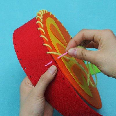 手工制作立体贴画儿童玩具diy贴画创意粘贴幼儿园
