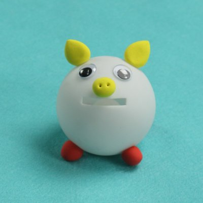 手工diy玩具 储蓄罐 彩色粘土材料组 幼儿园手工 儿童益智玩具