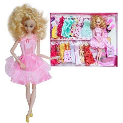 rw07】芭比娃娃衣服套装巴比芭芘