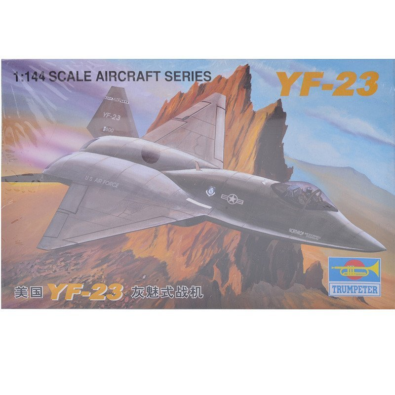 小号手1:144拼装飞机模型美国F22战斗机米格