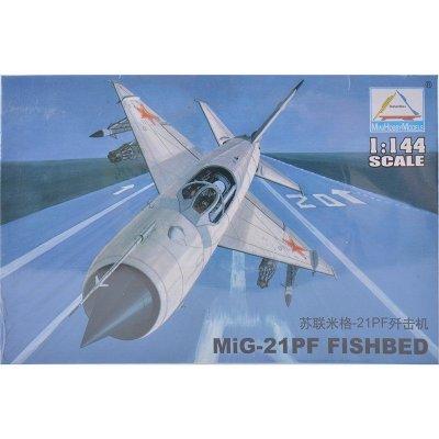 小号手1:144拼装飞机模型美国f22战斗机米格23歼击机轰炸机军事组装