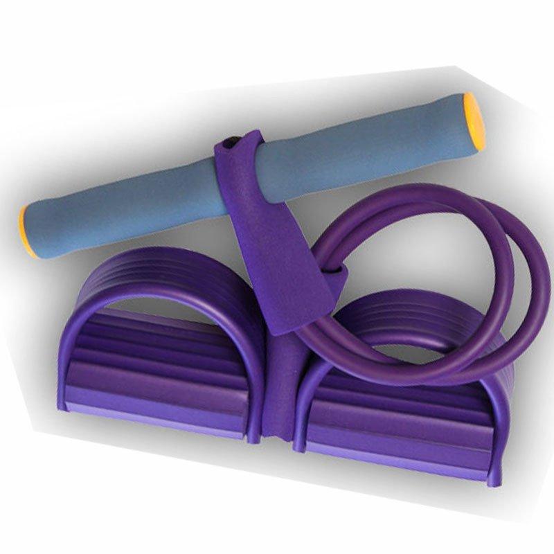 歌妮卡拉力器 拉力绳锻炼腹肌 仰卧起坐器配合使用 腹肌绳 腹肌器 减