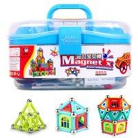 男孩科博玩具棒儿童正品玩具益智玩具磁力积木abs板可以做女孩么图片