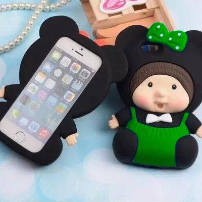 亿城(yicheer)可爱娃娃硅胶手机壳
