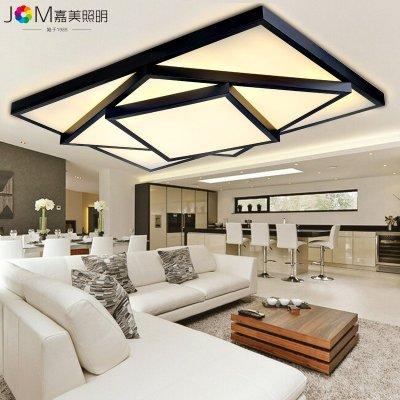 客厅灯卧室灯现代简约温馨长方形阳台灯餐厅灯饰