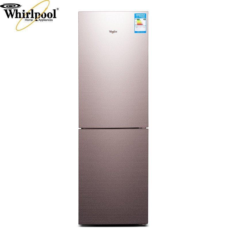 惠而浦(Whirlpool)BCD-269WLZW 269升风冷两门冰箱(玫瑰金)