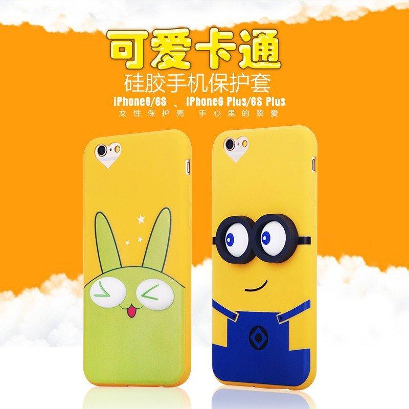 雪奈儿 guzel iphone6s/6手机壳可爱卡通硅胶手机套适用于苹果6splus