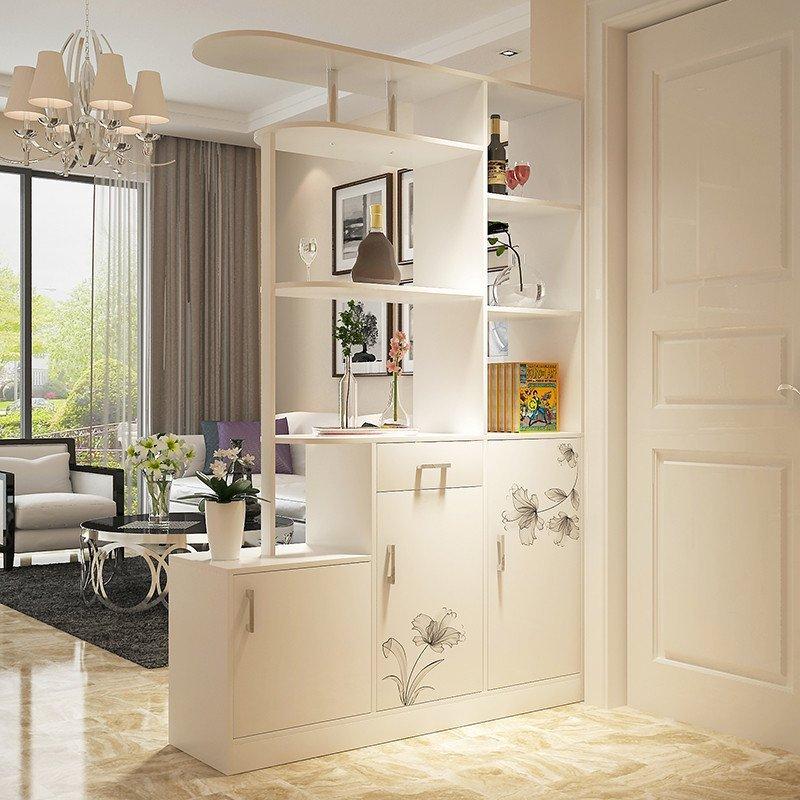 卓禾鞋柜简约现代创意门厅柜 烤漆鞋柜玄关柜酒柜时尚