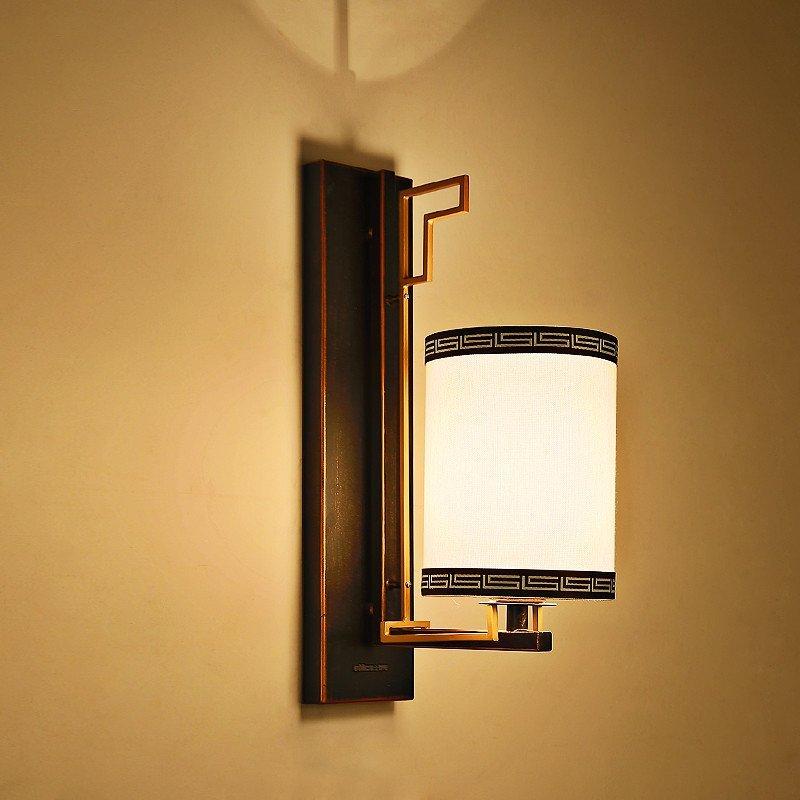 雷士照明 传承中式壁灯 需自购e27球泡*1