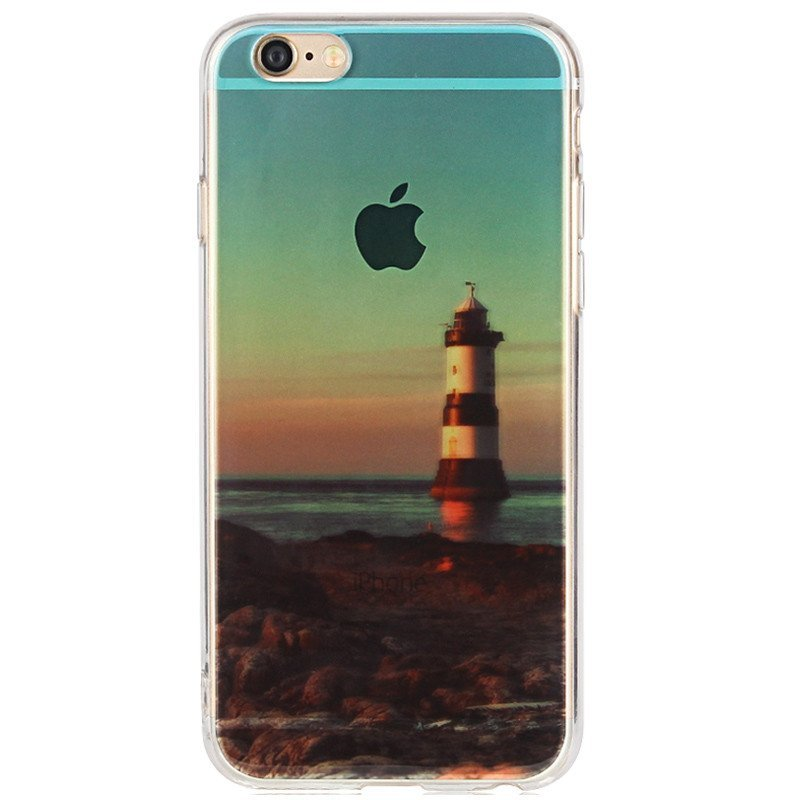 iphone6/6s手机壳防摔硅胶透明保护软