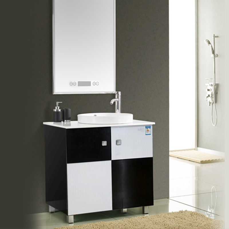 欧必德/OBD定制集成电热水器浴室柜2合1落家具琪凯森图片
