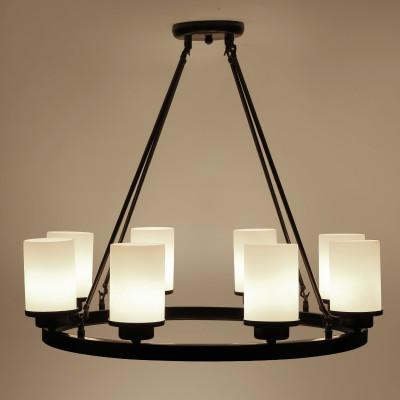 美式乡村艺术led客厅吸顶灯