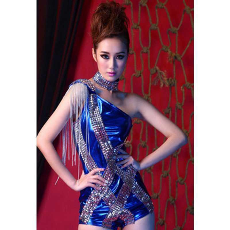【蔓睫系列】时尚新潮性感空姐女歌手酒吧v时尚混血的舞台性感图片