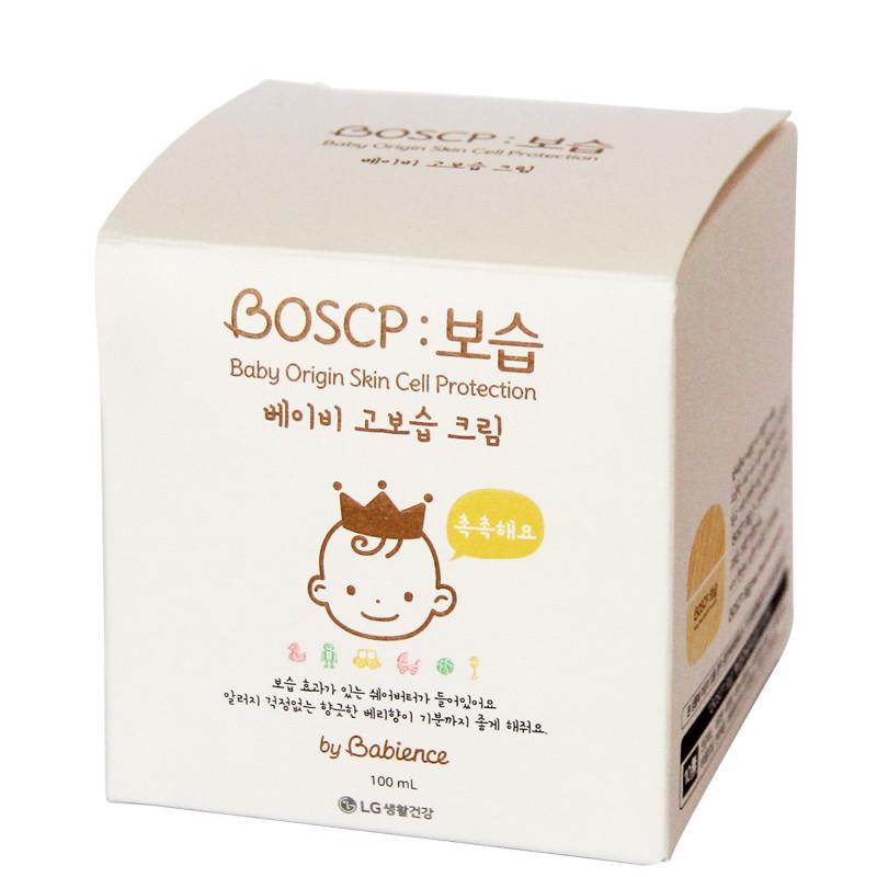 韩国进口宝贝恩赐boscp系列 宝宝润肤面霜100ml