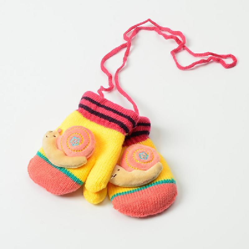 【青莓系列】冬款儿童加厚女童男童手套 双层