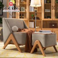光明家具招聘橡木简约现代西安红椅子靠背椅家具城北欧西部休闲图片