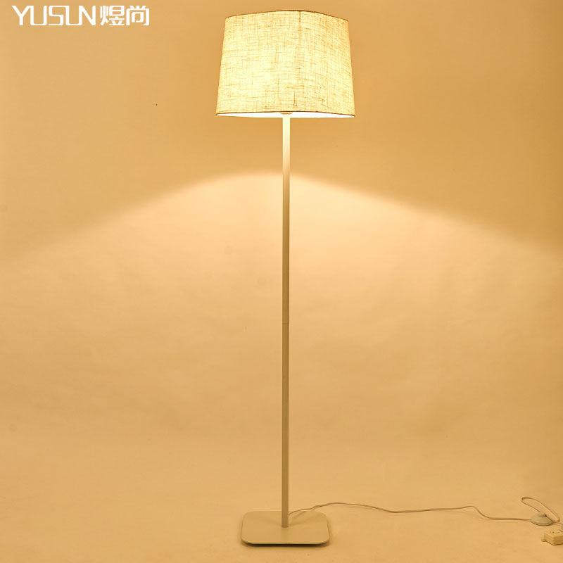 欧式落地灯客厅卧室床头铁艺落地台灯简约美式地灯简约宜家落地灯