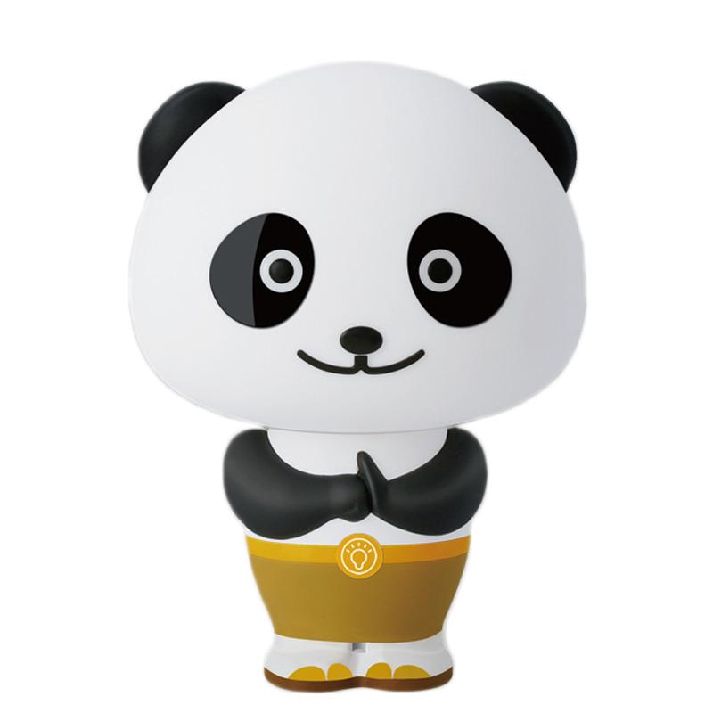 麦宝创玩 功夫熊猫灯语音控制台灯创意智能声控熊猫阿宝语音报时生日
