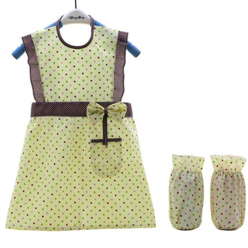 女童幼儿园公主围裙2017新品简约可爱小动物卡通小清新多款多色可选