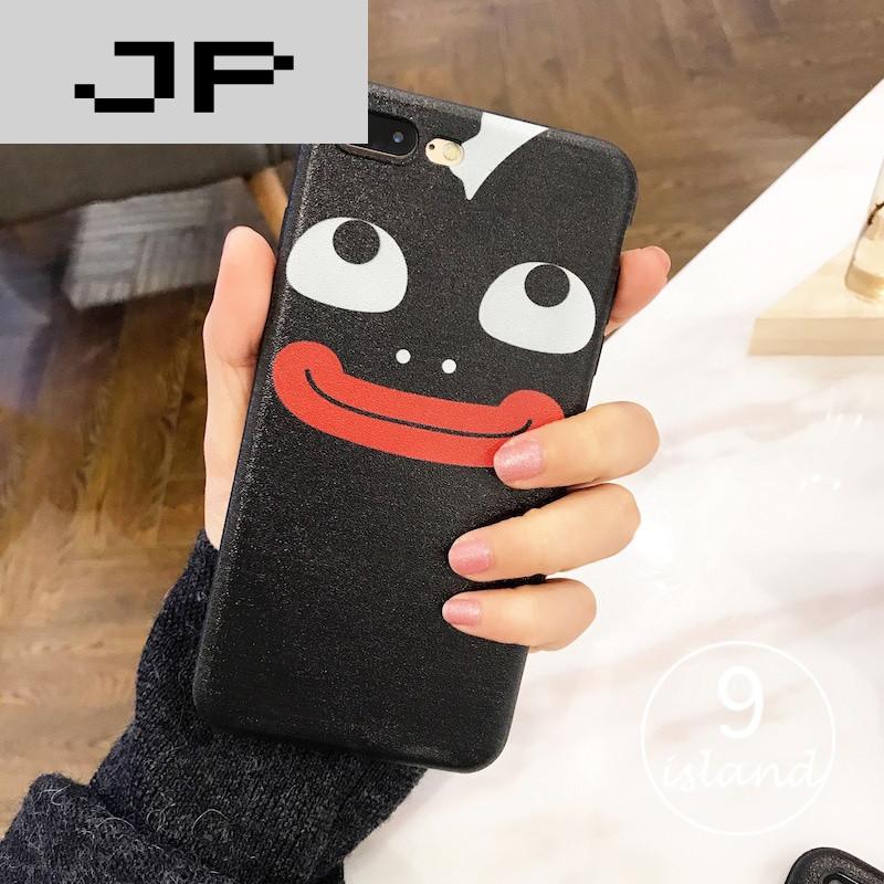 JP品牌隐私表情创意卡通iphone6plus手机壳6siphone6潮流麦克风图片