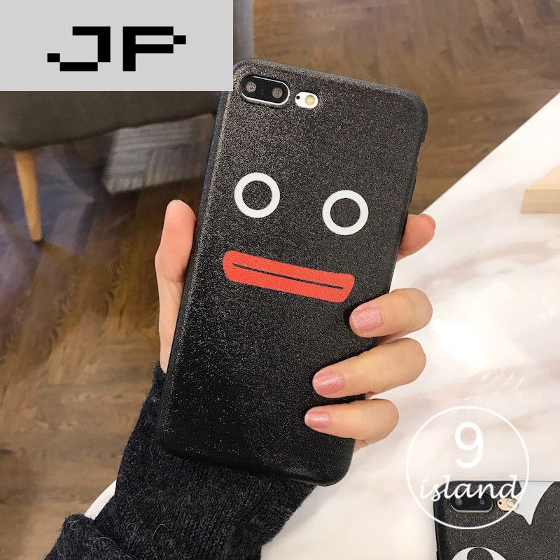 JP潮流卡通品牌创意表情iphone6plus手机壳6s的情油加包关于表图片