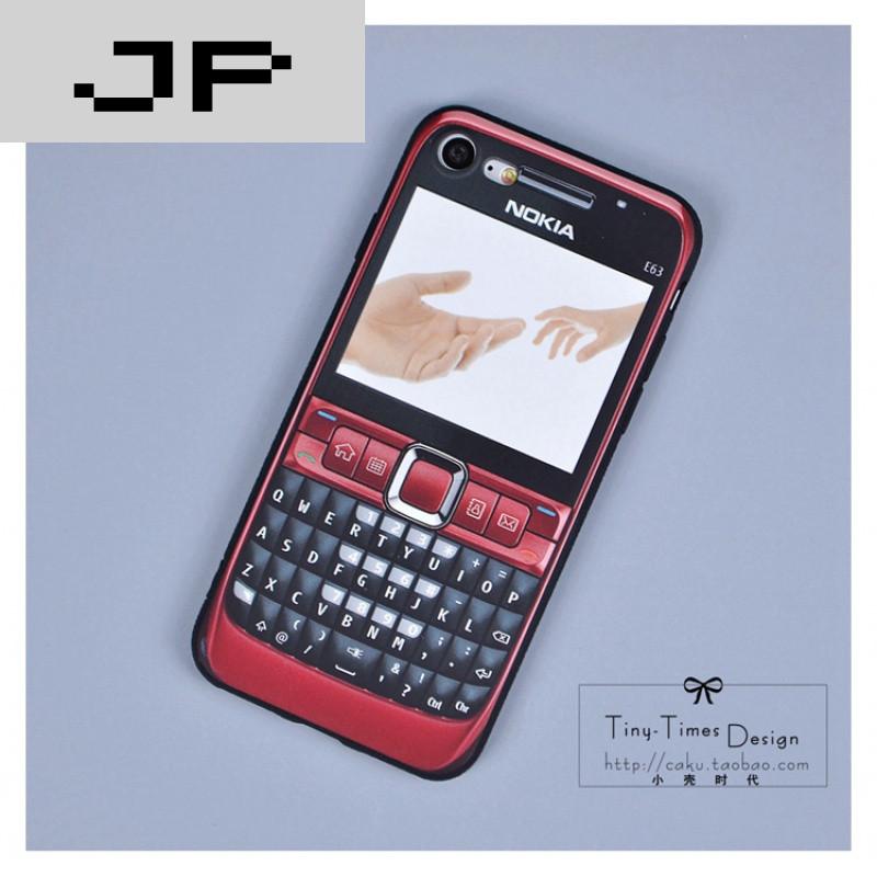 JP潮流品牌经典相机苹果iphone7创意手机壳 6