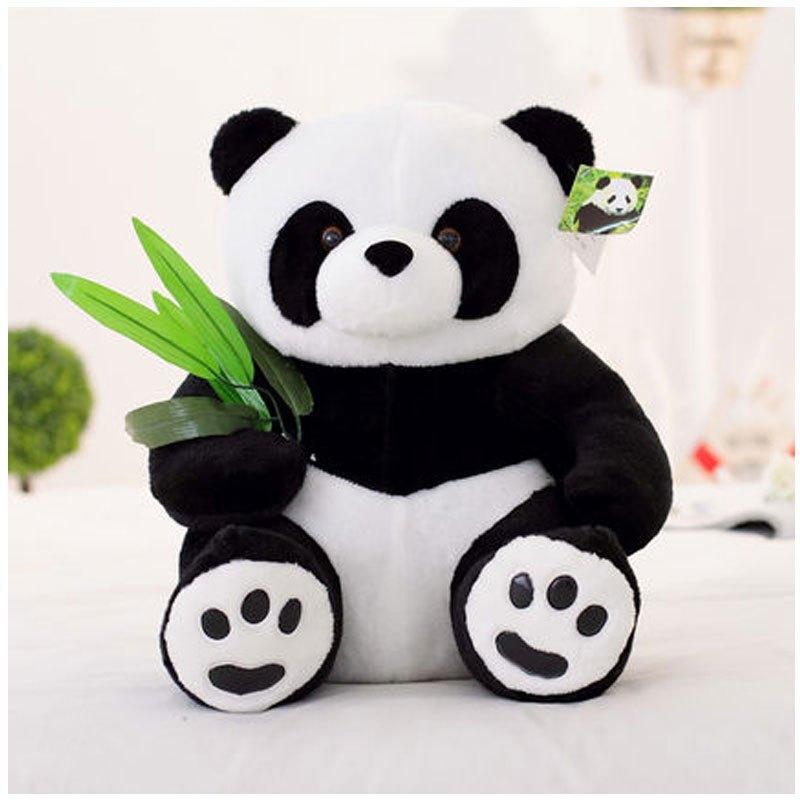 抱枕黑白抱抱熊大女生布娃娃女孩生日礼物小男女宝宝可爱玩偶大熊猫 4