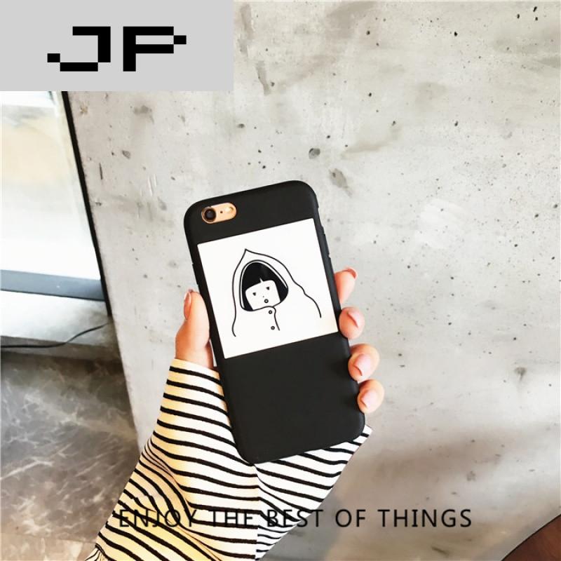 jp潮流品牌韩国chic风卫衣简约卡通 r7t/m手机壳oppor7plus全包r7s