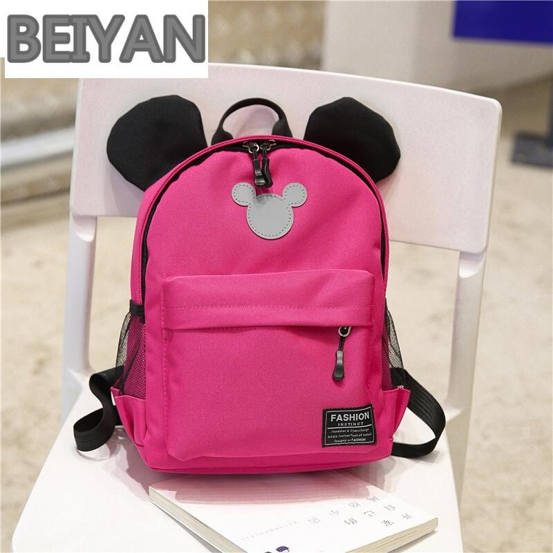 beiyan小可爱儿童书包幼儿园-岁女宝宝男童背包男孩女童女孩双肩包潮