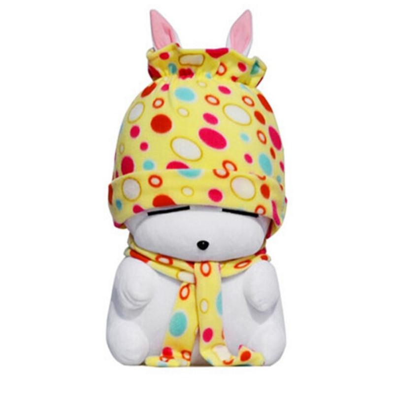 中天乐 流氓兔公仔毛绒玩具大白兔子抱枕布娃娃玩偶可爱儿童女友生日