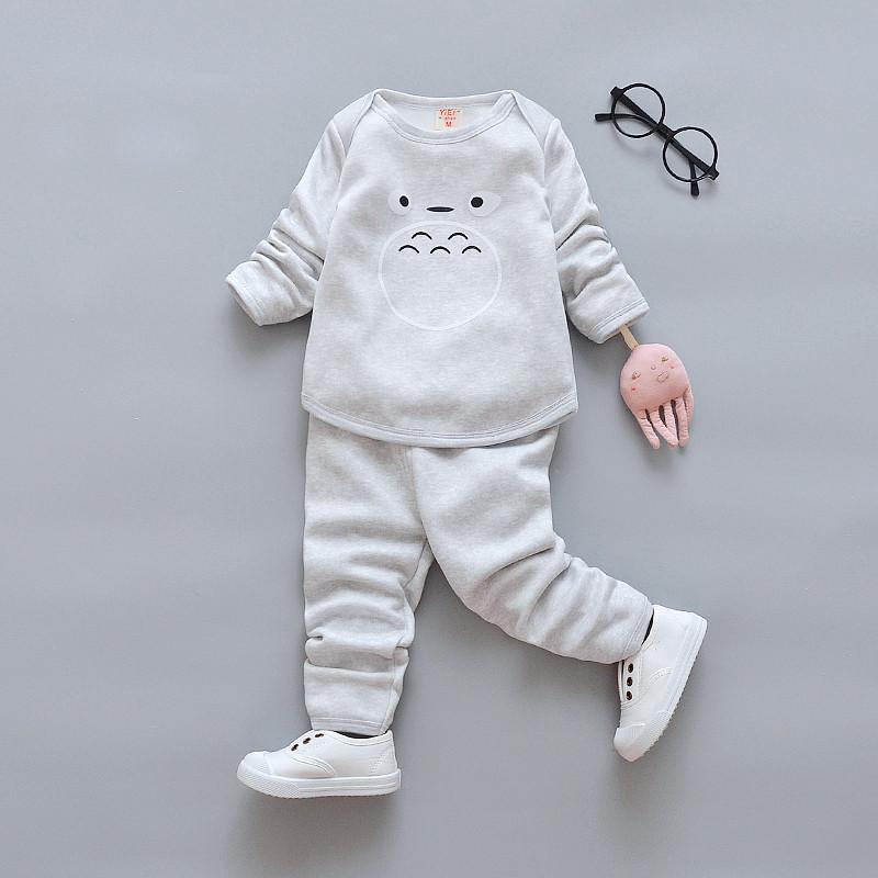 2017新款冬季儿童加绒保暖内衣宝宝真人男女图片谢谢套装全集大表情图片