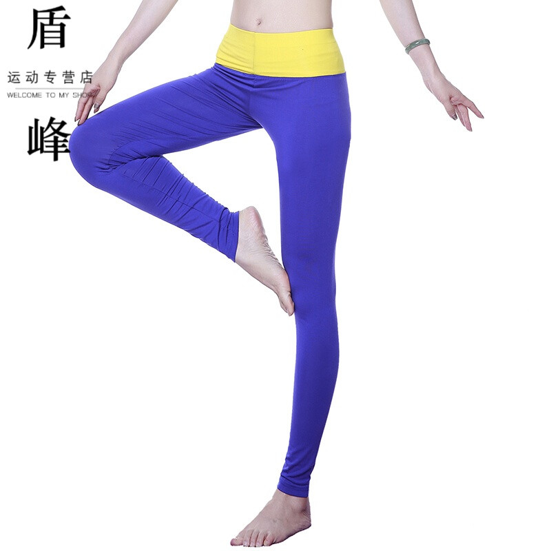 瑜伽健身裤跑步不能健美操高紧身瘦脸九分减肥为什么弹力打针海鲜跳舞后图片