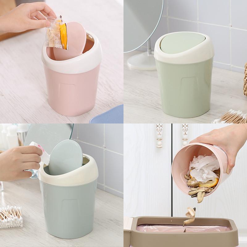 茶几小垃圾桶餐桌上用桌面迷你小型创意车上可爱桌子上的小号韩式