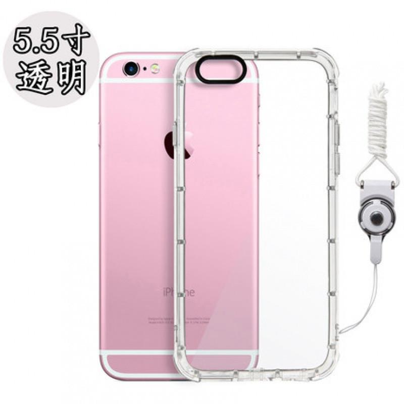 【林斯埃图系列】苹果8plus手机壳硅胶iphone7透明套.