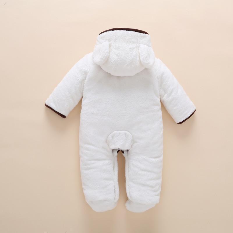 新款婴儿男孩冬季连体衣服两三个月大加厚新生儿秋季棉衣女宝宝秋冬装