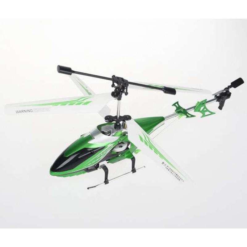 奥迪双钻数码陀螺仪金属直升飞机(绿色)858311