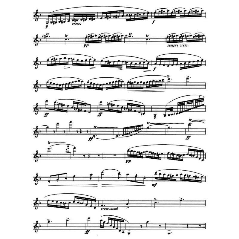 小星星的單簧管乐谱