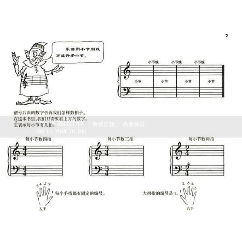 约翰·汤普森简易钢琴教程1(原版引进)图片