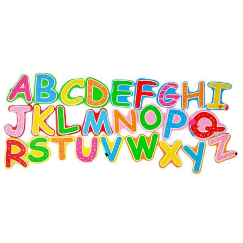智立方英文字母木书拼图5401