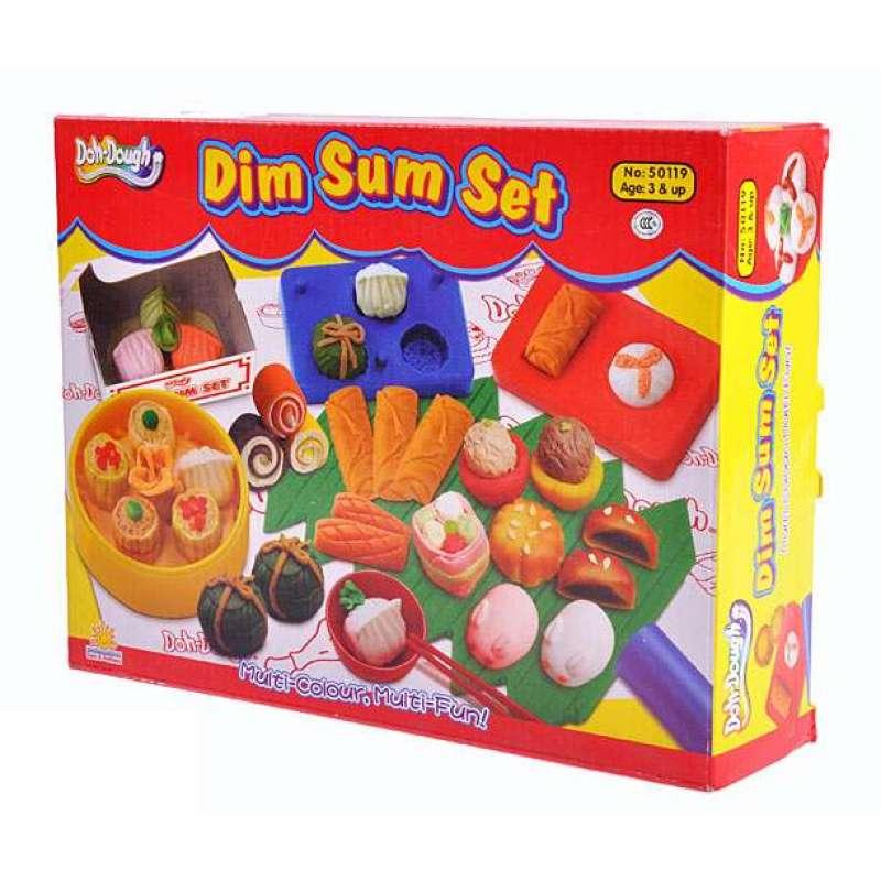 多多乐doh-dough彩泥橡皮泥(饮茶点心)50119