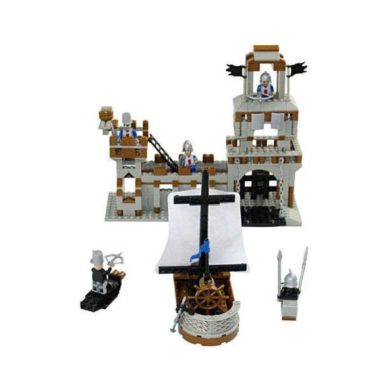 城堡儿童益智启蒙拼装积木