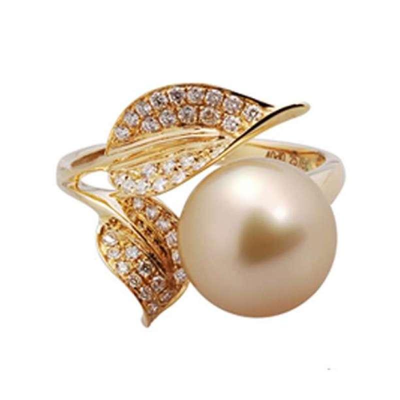 南洋金珠钻石戒指图片图片