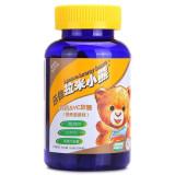 乐佳拉米小熊乳钙&Vc软糖(香蕉菠萝味)180克(90粒*2克)/瓶)