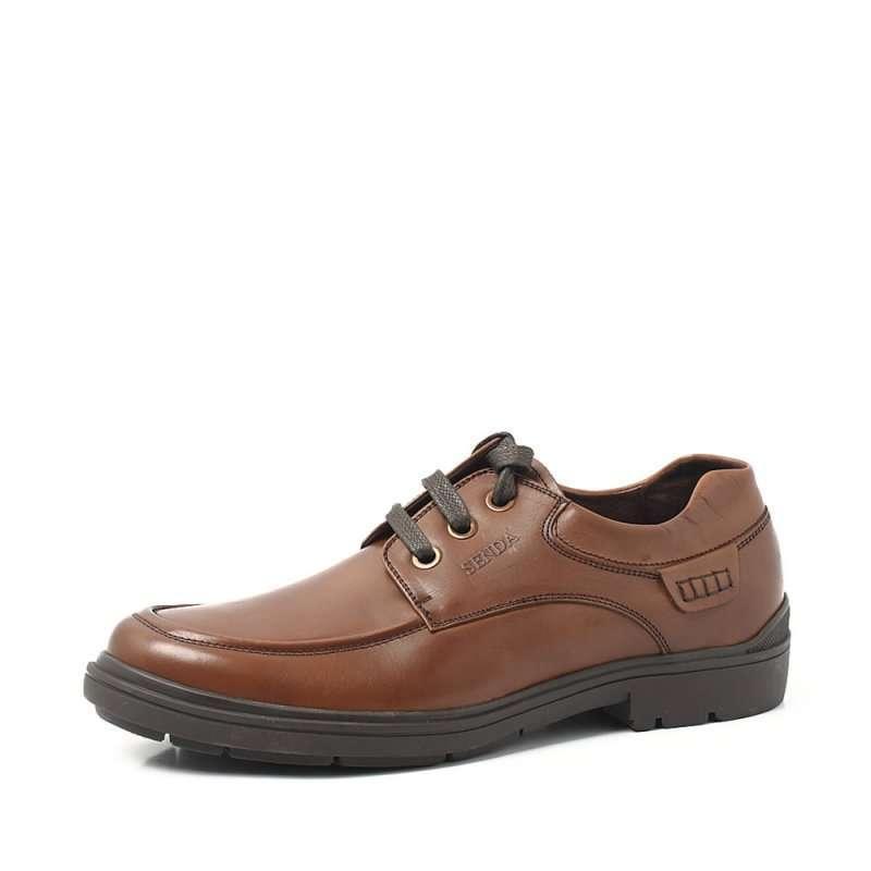 senda 森达2012秋季棕染牛男单鞋2wq07d 43 (商品编号:102987234)