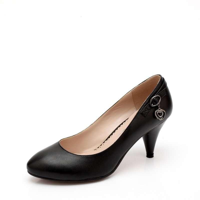 senda 森达2012春季黑平羊女单鞋4ad60d 33 (商品编号:103024386)