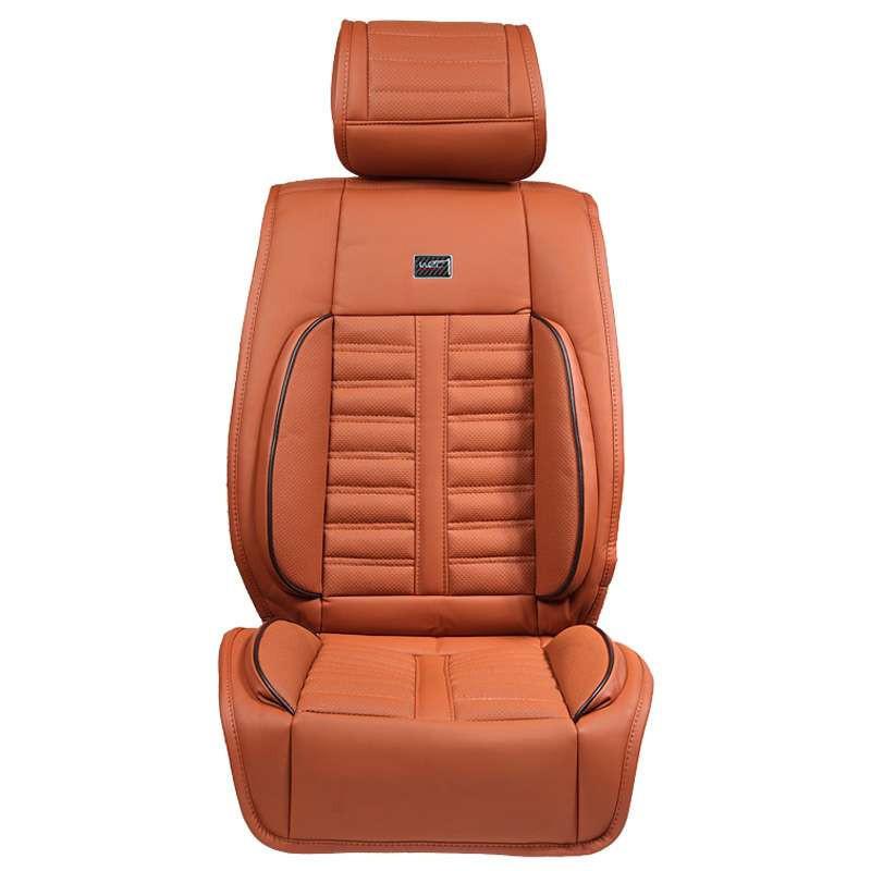wrc汽车坐垫 特级纤皮 人体学设计 四季通用汽车座垫