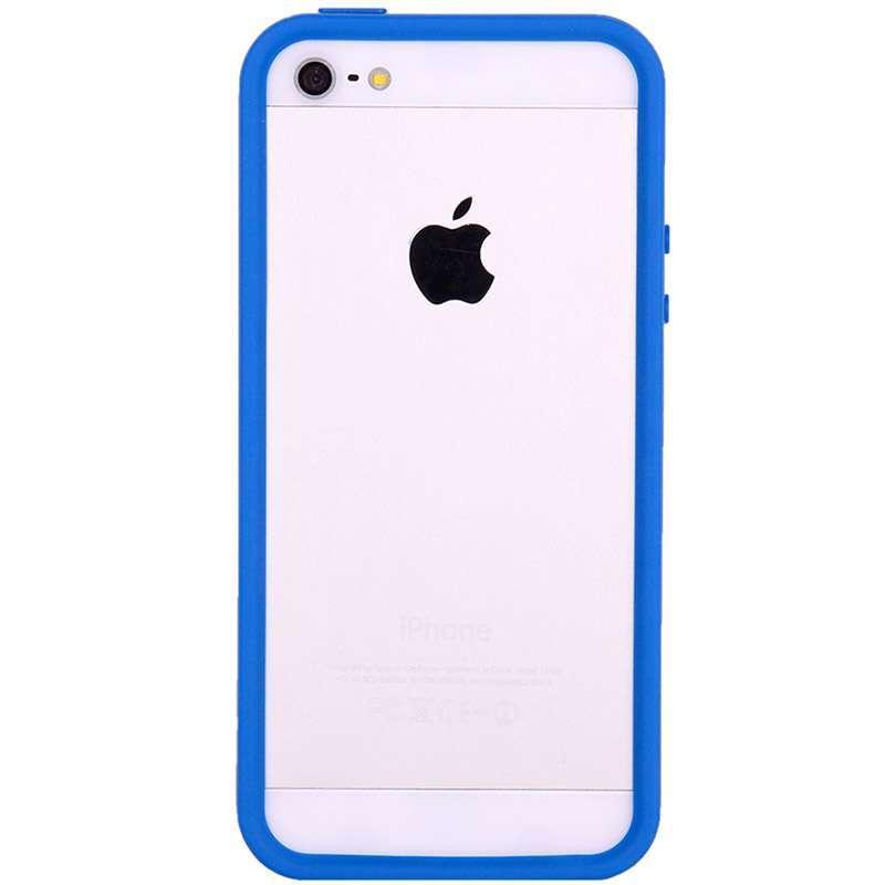 x-doria苹果5幻彩边框保护壳深邃蓝
