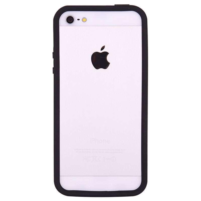 道瑞(x-doria)保护套bump幻彩边框系列苹果iphone5(经典黑) (商品编号