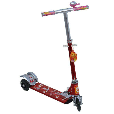 小小恐龙三轮全铝滑板车XKL-8813红色 ¥49