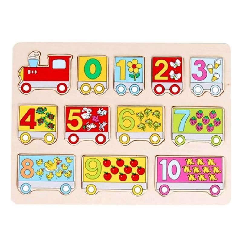 木马火车数字拼板20092